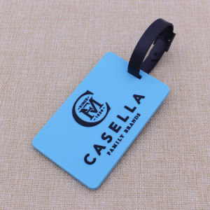 Custom 3D Soft Silicone Luggage Tag/ Rubber Bag Tag/ PVC Luggage Tag pictures & photos