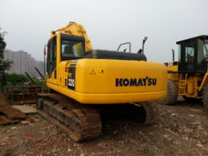 22ton/2007y Cheap Excavating Digger Used Komatsu PC220-7 Crawler Excavator pictures & photos