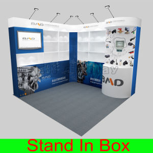 DIY Reusable Versatile &Portable Modular Aluminum Fabric Exhibition Booth pictures & photos