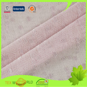 Jacquard Lace Nylon Lycra Spandex Underwear Fabric (JNS143)