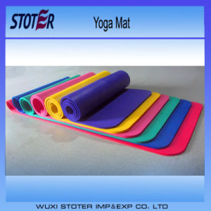 TPE Yoga Mat Wholesale Custom Eco Friendly Fitness Mats pictures & photos