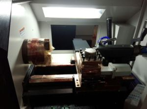 Heavy Duty CNC Horizontal Lathe for Turning Grinding Wheel pictures & photos