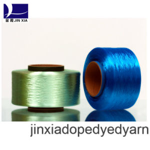 FDY Dope Dyed 750d/192f Filament Polyester Yarn pictures & photos
