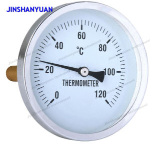 Bimetal Thermometer, Back Type pictures & photos