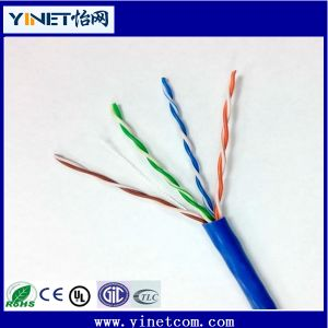 Top Quality Cat5e Solid Bare Copper 24AWG Network LAN Cable 305m pictures & photos