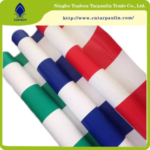 Colorful PVC Waterproof Tarpaulin for Tent or Roof Cover Tb021 pictures & photos