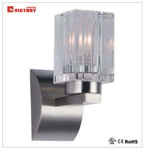 Modern Simple Glass Wall Lighting Lamp with LED Bulb pictures & photos