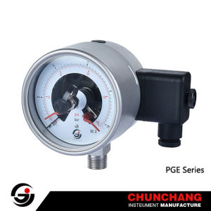 Stainless Steel Electric Contact Pressure Gauge (TYPE B) pictures & photos
