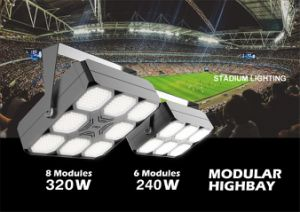 240W 140LMW Modular Highbay Light with UL&Dlc Listed pictures & photos