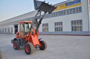 Mini Tractors with Front End Loader Oj-16 1.6ton pictures & photos