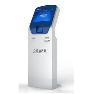 Various Size Touch Screen Self-Service Standing Kiosk pictures & photos