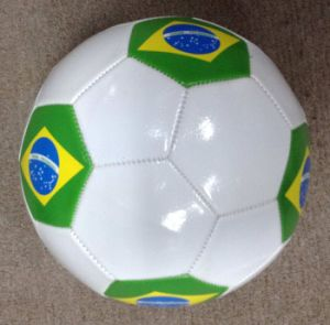 7# PVC Machine Stitching Soccer Ball pictures & photos
