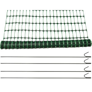 Exporting Good Quality Plastic Mesh Barrier Fencing Netting pictures & photos