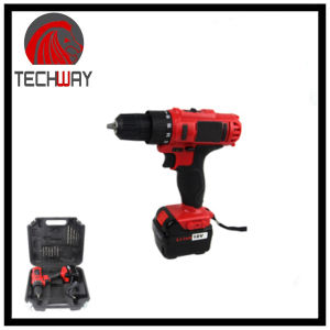 "18V Cordless Type Battery Power Source Chuck: 3/8"" (1-10mm) Industrial Cordless Drill pictures & photos"