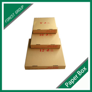 Plain Kraft 9 Inch Pizza Box (FP8039245) pictures & photos