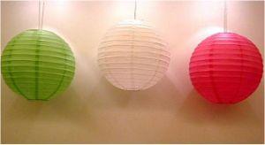 Paper Round Pendant Lamp