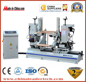 High Precision Woodworking CNC Automatic Double-End Tenoner Machine pictures & photos