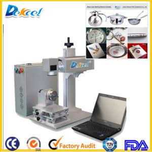 China 20W Jpt Mopa CNC Fiber Laser Color Marker Machine pictures & photos
