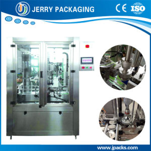 Automatic Single Head Inline Plastic & Metal Cap Screwing Capping Machine pictures & photos