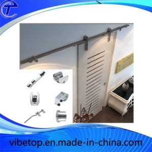 Bathroom Sliding Barn Door Hardware Track System pictures & photos
