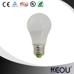 Plastic and Aluminum A60 7W 9W 12W 220V LED Light Bulbs pictures & photos