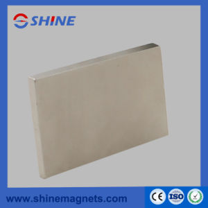 Permanent Strong Powerful Rectangle Neodymium Magnet Nickel Plated pictures & photos