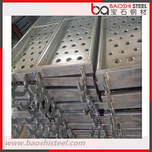 Q195 Galvanized Steel Catwalk for Scaffolding Frame pictures & photos