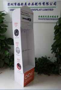 Supermarket Advertising Paper Corrugated Display Stand, Cardboard Floor Display pictures & photos