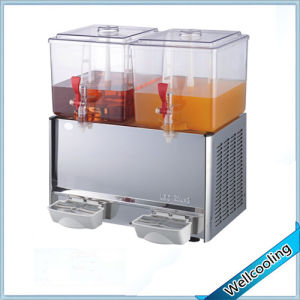 Good Quality Cold & Heat Double Tank Juice Dispenser pictures & photos