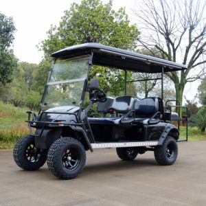 Customized 6 Seats Electric Golf Cart with Big Tyre pictures & photos