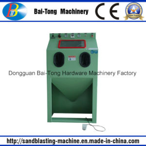 Standard Manual Sandblast Cabinet for Aluminum and Steel Parts pictures & photos