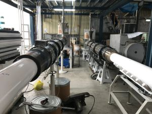 Hx-200W Teflon RAM Extrusion for PTFE Rod pictures & photos