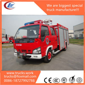 China Manufacture Supplier Isuzu 4X2 Fire Fighting Truck pictures & photos