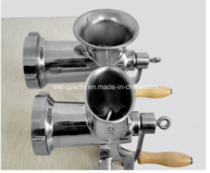 Stainless Steel Portable Manual Meat Grinder for Wholesale pictures & photos
