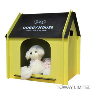 Design Royal Dog House with Pillow Wood Pet Beds pictures & photos