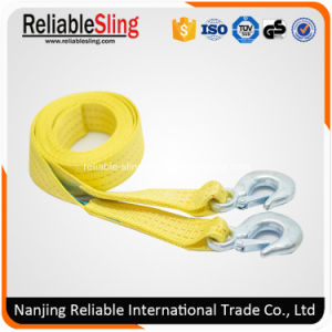 2 Inch 10000 Lbs Polyester Tow Rope for Truck with Safety Hooks pictures & photos