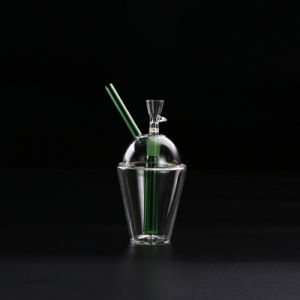 Glass Smoking Pipe with Percalator and Recycler with Best Quality