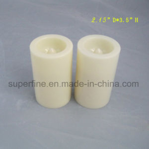 Battery Operated Plastic Ivory Magic Colored Set Amber Lighting Candles pictures & photos