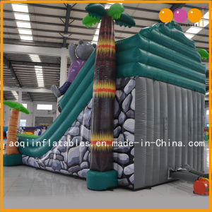 Safari Inflatable Slide Toy Inflatable Bouncy Slide for Kid (AQ01600) pictures & photos