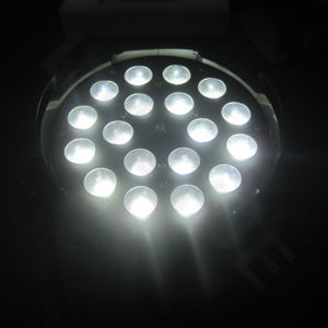 DMX Stage 18X18W RGBWA UV 6in1 PAR LED Zoom pictures & photos
