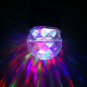LED White RGB Kaleidoscope Motion Flame Water Wave Spotlight Projector pictures & photos