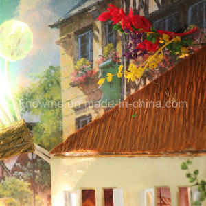 Popular Handmade Beautiful Wooden Toy DIY Dollhouse pictures & photos