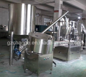 GMP Stainless Steel Powder Filller Capper Labeler pictures & photos
