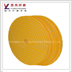 100% Treated Cotton Cloth Buff Wheel for Polishing Machine pictures & photos