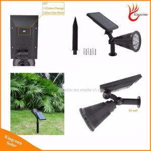 7LED RGB Solar Spot Light for Outdoor Garden Landscape Lawn pictures & photos