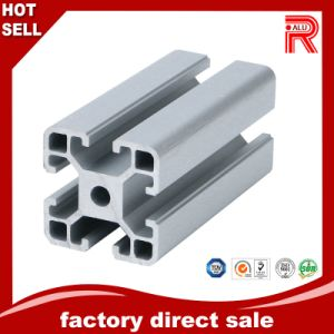 ISO9001 Cheaper Aluminum/Aluminium Extrusion Profiles Mill Surface Profile for Window pictures & photos
