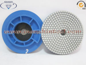Snail Lock Edge Polishing Pads pictures & photos