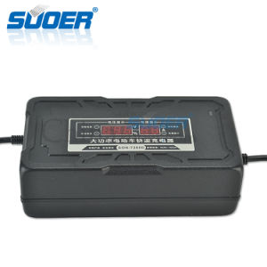 Suoer New Design Electric Bike Charger 72V Smart Fast Charger Automotive Battery Charger (SON-7280D) pictures & photos