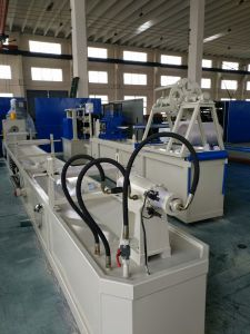 Overseas Service Stainless Steel Corrugated Pipe Forming Machine pictures & photos