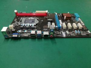 Esonic Intel H81-Btc-King for Bitcoin Miner, 6*Pcie Slots, Mining Motherboard pictures & photos